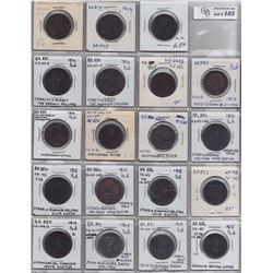 NOVA SCOTIA MERCHANT TOKENS - Lot of 39 merchant tokens.