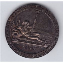 TOKENS OF UPPER CANADA - Br 721.  Copper Company of Upper Canada