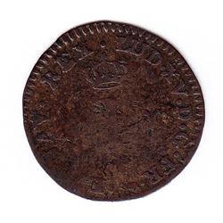 Br 509. Billon Sol of 12 Deniers. 1739 A. (Paris).