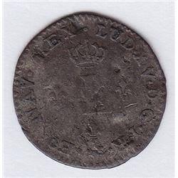 Br 509. Billon Sol of 12 Deniers. 1740 A. (Paris).