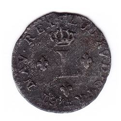 Br 509. Billon Sol of 12 Deniers. 1739 P. (Dijon).