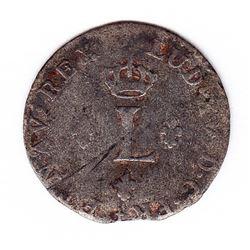 Br 509. Billon Sol of 12 Deniers. 1740 P. (Dijon).