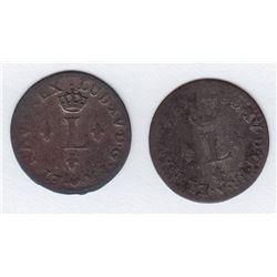 Br 509. Billon Sol of 12 Deniers. 1740 BB. (Strasbourg).