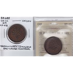 Obverse Grouping: Br 688, 693.  Lot of 2
