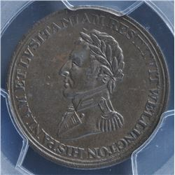 Wellington Lower Canada ½ Penny Token (c.1812)