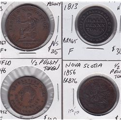 Breton Tokens Lot of 4