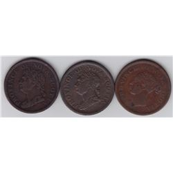 Breton Tokens Lot of 3