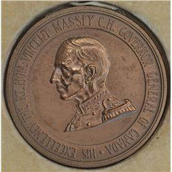 Canadian Medal - Governor General Vincent Massey