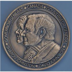 Canadian Medal - Governor General David Johnson