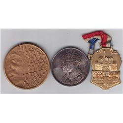 Canada Medals Lot of 3