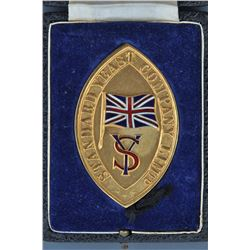 Standard Yeast Company Medal