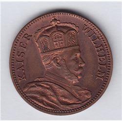 Br 601. Teutonia Club. Kaiser Wilhelm. 5c.