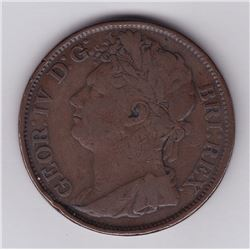 Br 861. Colonial 1/50 Dollar, 1823.