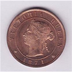 Br 915. Prince Edward Island cent, 1871.