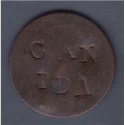 Can Ida/St. Amant, (1820 Halfpenny).