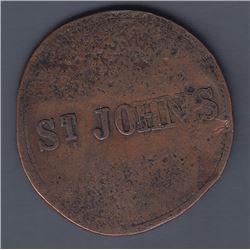 St. John's, Newfoundland (?) token.