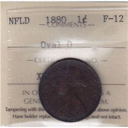 1880 Newfoundland One Cent