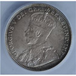 1912 Newfoundland Twenty Cents