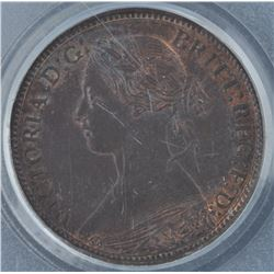 1861 New Brunswick Half Cent