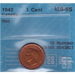 1942 One Cent