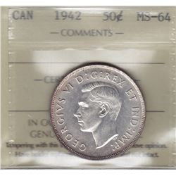 1942 Fifty Cents