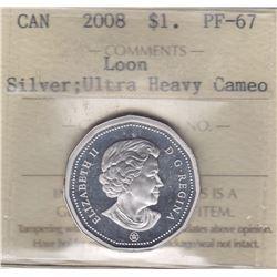 2008 Silver Loon Dollar