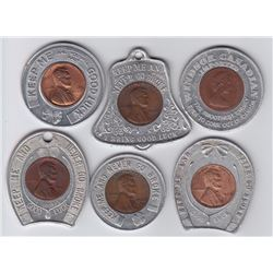 Encased cents