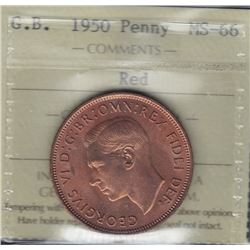 Great Britain - Penny, 1950