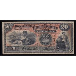 Canadian Bank of Commerce $20, 1912