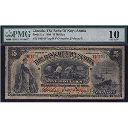 Bank of Nova Scotia $5 1908