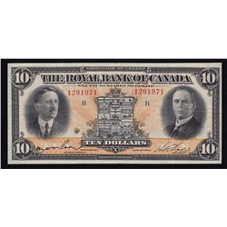 Royal Bank of Canada $10, 1927