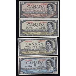 Bank of Canada, 1954 Devil's Face Lot