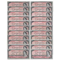 Discover the 1954 Bank of Canada $2 Experimental Program
