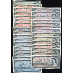 Bank of Canada, 1954 Lot