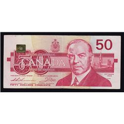 ERROR NOTE - Bank of Canada $50, 1988