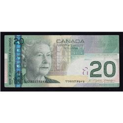 ERROR NOTE - Bank of Canada $20, 2004