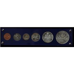 1961 Canada Silver Year Set - In capital plastic holder.