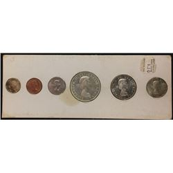 Canadian Coin Set, 1963