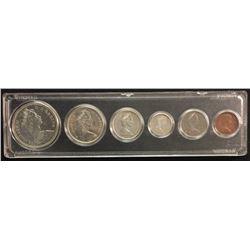 1965 Canada Silver Year Set