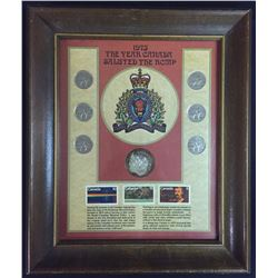 1973 Framed Salute to the RCMP