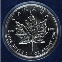 1994 Cased Silver Maple Leaf