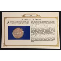Series of the Century 1997 Proof Silver Dollar in Card