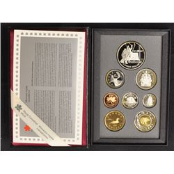1997 RCM Prestige 8 - Coin Set, with 925 Sterling Silver Dollar