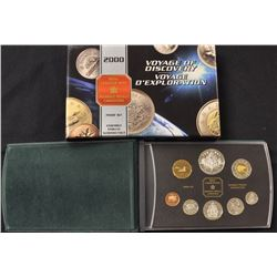 2000 Proof Coin Set with Sterling Silver .925 Silver Coins