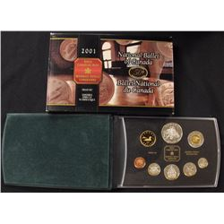 RCM - Proof - 8 Coin Set - 925 Sterling Silver '2001'