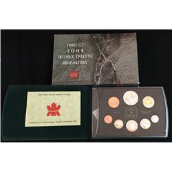 Royal Canadian Mint 2003 Proof Mint Coin Set