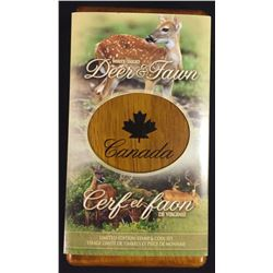 2005 Deer and Fawn $5 Coin & Stamp Set