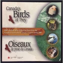 2000 Birds of Prey Sterling Silver 50-Cent Set