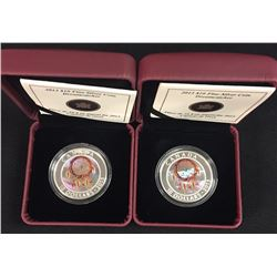2013 Dreamcatcher $10 Fine Silver Coins - Lot of Two