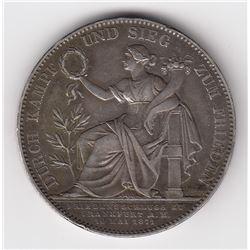 German States, BAVARIA, Ludwig II, Thaler, 1871